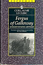 Fergus of Galloway by William the Clerk