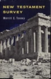 New Testament Survey de Merrill C. Tenney