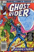 Ghost Rider # 72 by Roger Stern