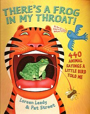 There's a Frog in My Throat! - 440 Animal…