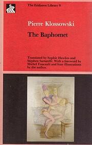 The Baphomet de Pierre Klossowski