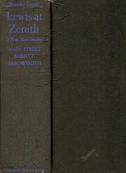 Lewis at Zenith de Sinclair Lewis