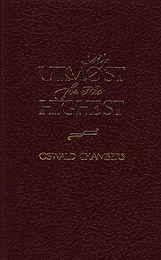 My Utmost for His Highest, Promotional…