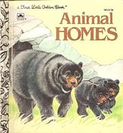 Animal homes (A First little golden book) de…