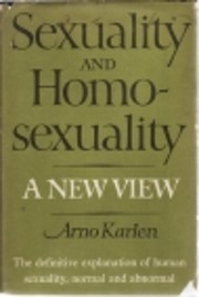 Sexuality and homosexuality;: A new view de…