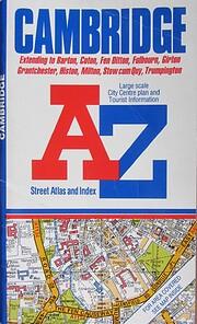Cambridge A-Z Street Atlas