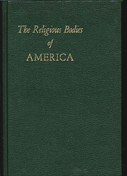 The Religious Bodies of America de F. E.…