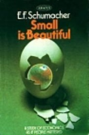 Small is beautiful a study of economics as…