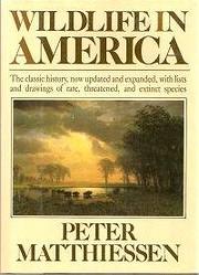Wildlife in America – tekijä: Peter…