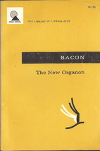 The New Organon by Francis Bacon