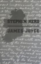 Stephen Hero by James Joyce