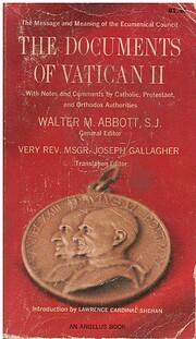 Documents of Vatican II de Walter M. Abbott