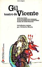 Teatro de Gil Vicente by Gil Vicente