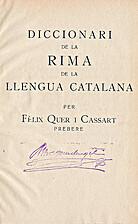 Diccionari de la rima de la llengua catalana…