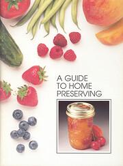 Bernardin Guide to Home Preserving af Ltd.…