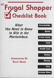 The Frugal Shopper Checklist Book: What You…