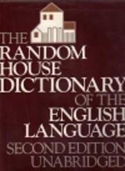 The Random House dictionary of the English…