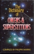 A Dictionary of Omens and Superstitions by…