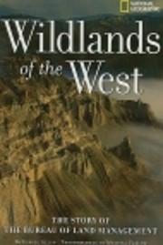 Wildlands of the West de Leslie Allen