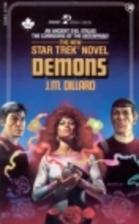 Demons (Star Trek, No 30) by J.M. Dillard