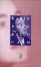 Kallocain by Karin Boye