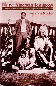 Native American testimony : a chronicle of…