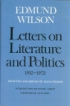 Letters on literature and politics,…