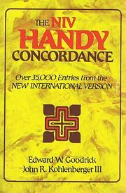 NIV Handy Concordance, The af Edward W.…