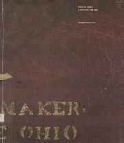 Made in Ohio: Furniture 1788-1888 av…