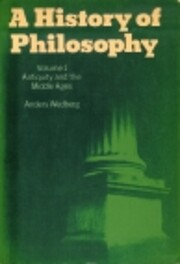 A History Of Philosophy: Volume 1: Antiquity…