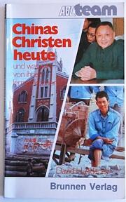 Chinas Christen heute und was wir von ihnen…