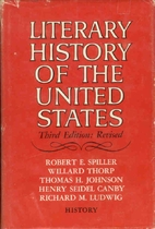 Literary history of the United States by…