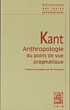 Anthropology from a Pragmatic Point of View…