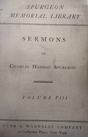 Spurgeon Memorial Library - Volume 08,…