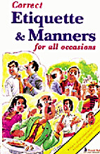 Correct Manners and Etiquette by Seema Gupta