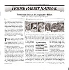 House Rabbit Journal Winter/Spring 2008 by…