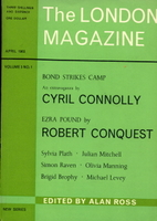 Bond strikes camp by Cyril Connolly