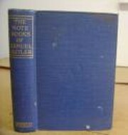 The notebooks of Samuel Butler : selections…