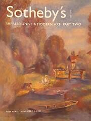 Sotheby`s impressionist & modern art part…