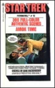 Star Trek Amok Time : Fotonovel #12 door…