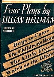 Four plays por Lillian Hellman
