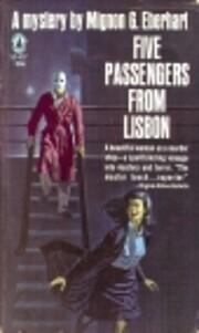Five Passengers From Lisbon von Mignon G.…