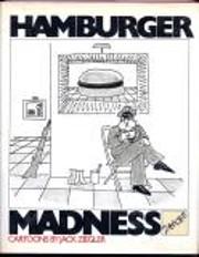 Hamburger madness: Cartoons (A Harvest/HBJ…