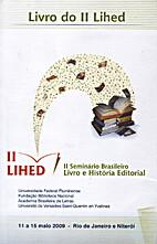 Livro do II Lihed : II Seminário Brasileiro…