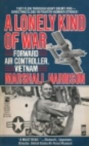A Lonely Kind of War by Ian Harrison