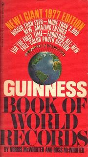Guinness Book of World Records por Norris…