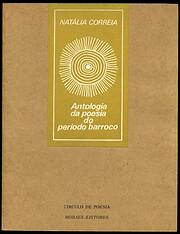 Antologia da poesia do período barroco de…