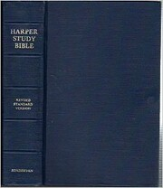 Harper study Bible: The Holy Bible de Harold…