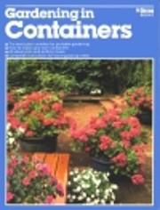 Gardening in Containers de Alvin Horton