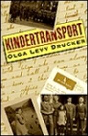 Kindertransport av Olga Levy Drucker